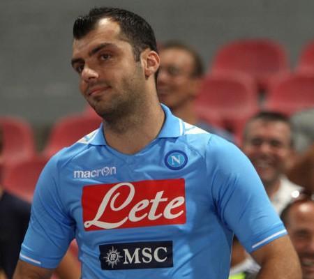 Goran Pandev presentazione SSC Napoli