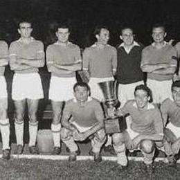 1962, la prima Coppa Italia per gli azzurri, coach Pesaola autore del