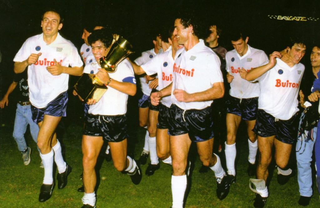 Anno di grazia 1987, il grande slam è servito, Scudetto prima, Coppa Italia poi