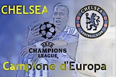 Rigori fatali al Bayern.Drogba non sbaglia ed il Chelsea è Campione d'Europa.