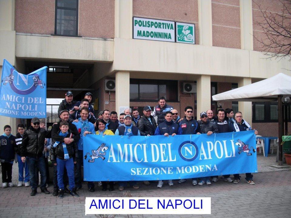 Il dramma dei partenopei a Modena