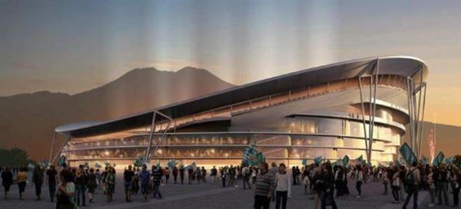 De Magistris ritorna a parlare del nuovo stadio