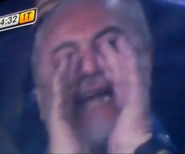 VIDEO: De Laurentiis-Show contro Lavezzi: cosa gli manda a dire dalla tribuna?