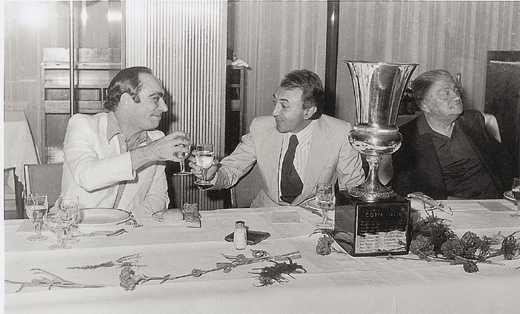 Nel '76 secondo trofeo targato Juliano, con mister Vinicio assente in panchina ma vincitore morale