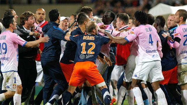 VIDEO: Montpellier - Evian, si riapre il campionato e nel finale scatta una rissa incredibile