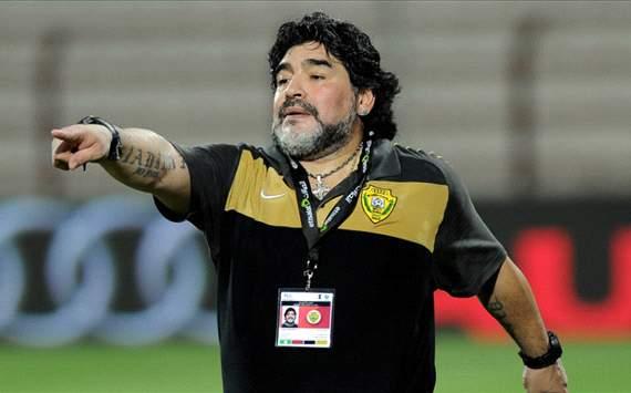 Maradona all'assalto della Gulf Champions Cup
