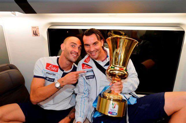 Vacanze italiane per Cannavaro ed Aronica. Il capitano: