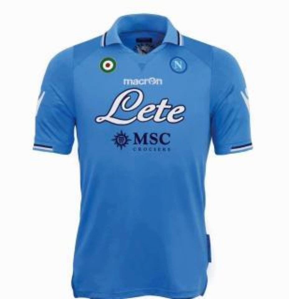 Idee dal web: la nuova maglia del Napoli per la nuova stagione