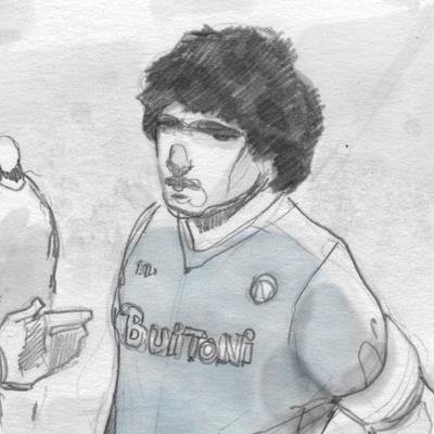 BeccoGiallo Editore annuncia il libro a fumetti su Maradona