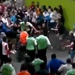 VIDEO: Rissa incredibile ad Euro 2012, russi e ucraini all'ultimo sangue...
