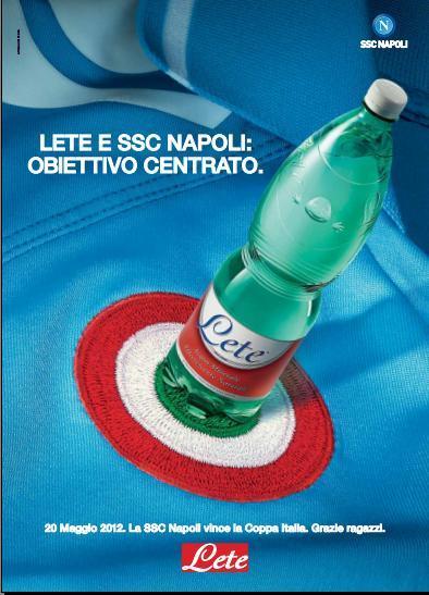 Sponsor, ancora Acqua Lete nel destino degli azzurri