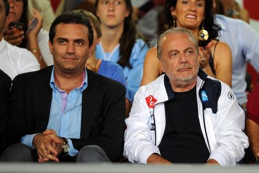 De-Laurentiis-e-De-Magistris-in-tribuna
