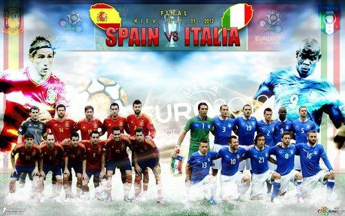 Euro 2012, Italia-Spagna, si scrive la storia