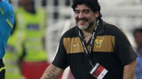 Maradona non ci sta e chiede un incontro con l'Al Wasl