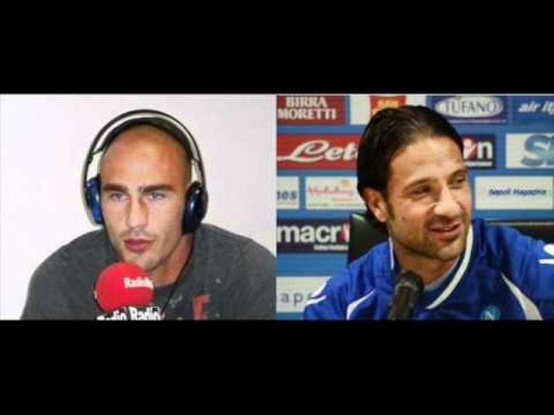 Scherzo Paolo Cannavaro e Grava a Radio Marte