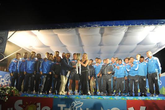 RILEGGI IL LIVE - Napoli vs Rappresentativa Trentino 9-0!
