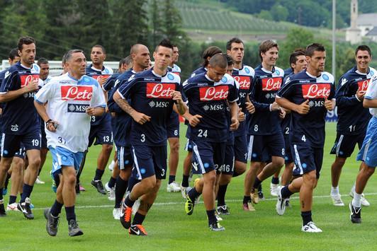 Napoli-Grosseto, la formazione titolare azzurra