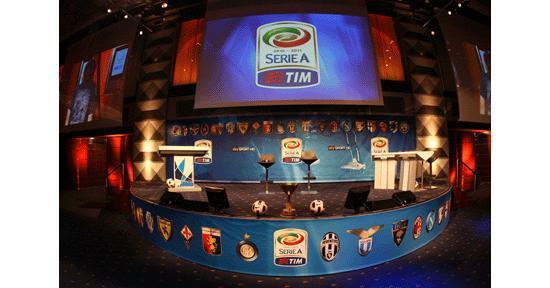 Giovedì 26 la presentazione del calendario della Serie A