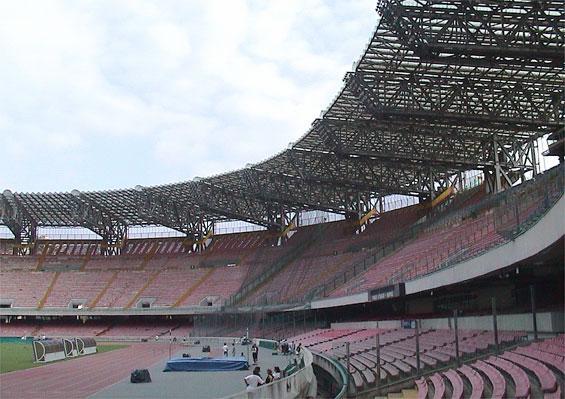 Visita Uefa, San Paolo agibile per l'Europa League
