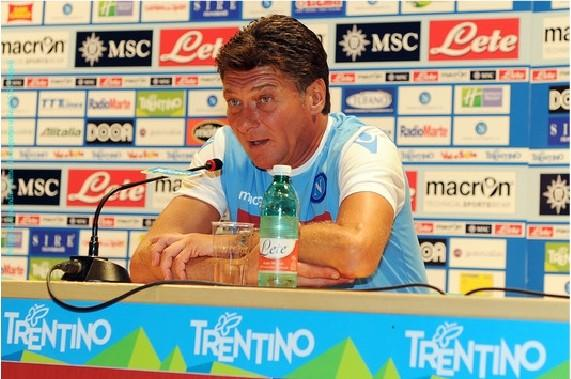Mazzarri in conferenza