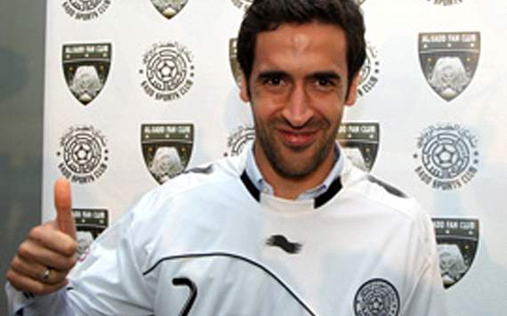 Raul Real Madrid