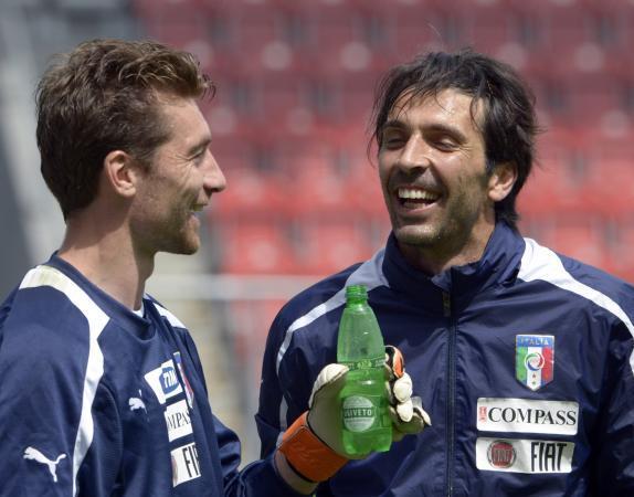 Buffon e De Sanctis