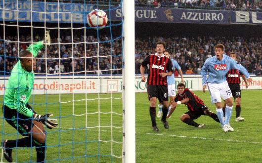 Napoli - Milan 2009 - Denis