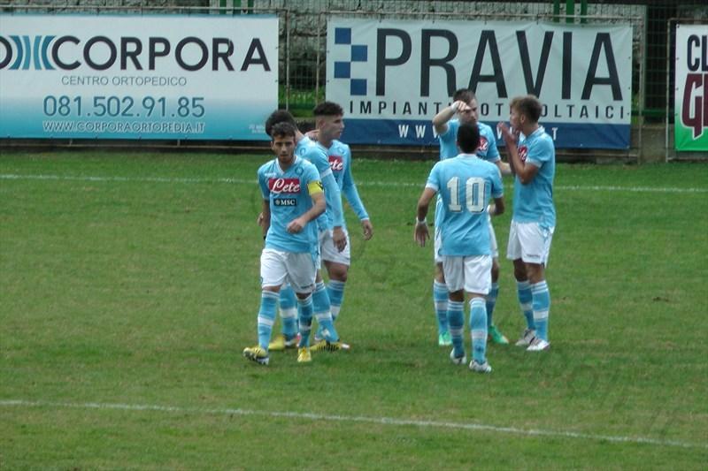 La primavera del Napoli in campo per la Coppa Italia