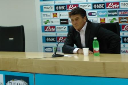 Conferenza stampa di Walter Mazzarri: