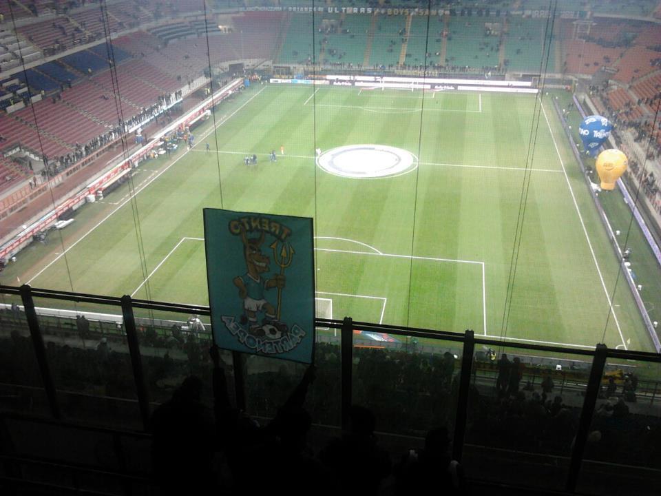 Inter - Napoli con il Napoli Club Trento Partenopea,