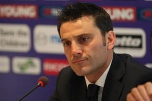 """Montella: """"Abbiamo gioco e convinzione, domani vogliamo vincere. Stimo Mazzarri, Cavani è fantastico"""""""