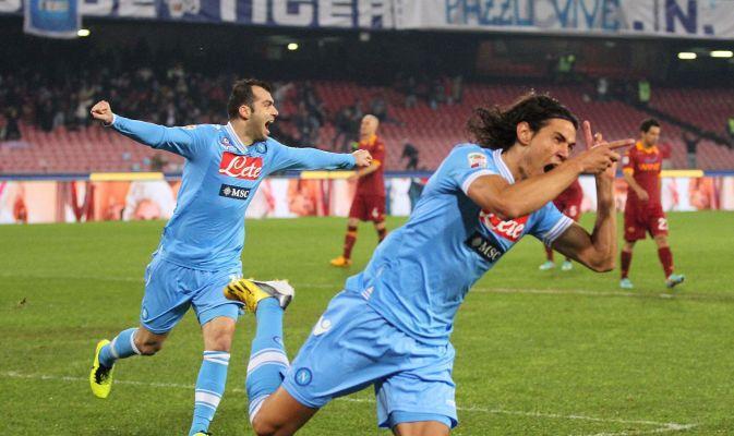 VIDEO - Napoli Roma 4-1: una tripletta di Cavani e un gol di Maggio abbattono la Roma