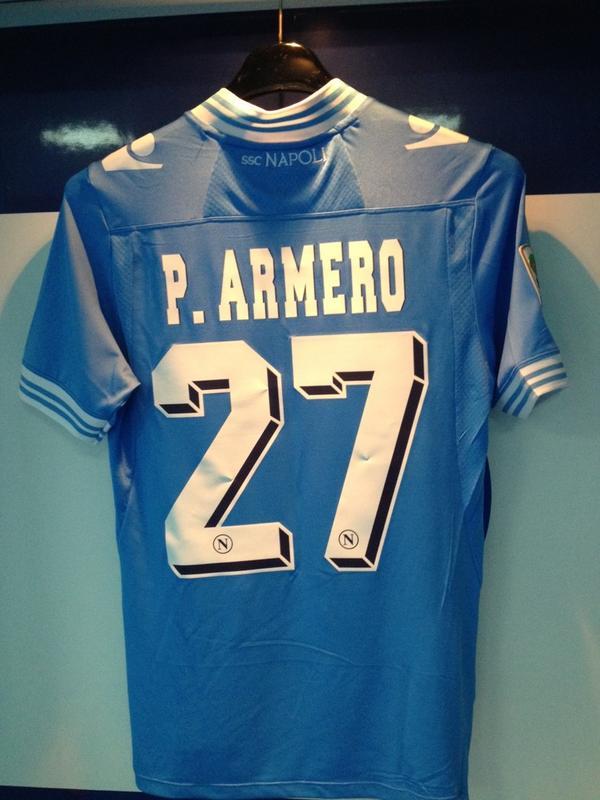 FOTO - La prima maglia azzurra di Armero