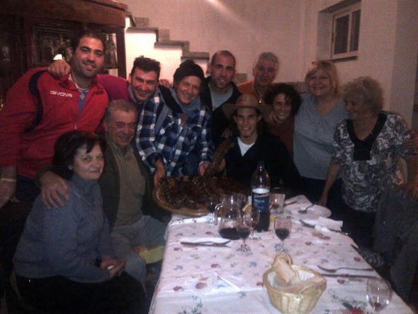 Una serata in famiglia per il Matador - FOTO