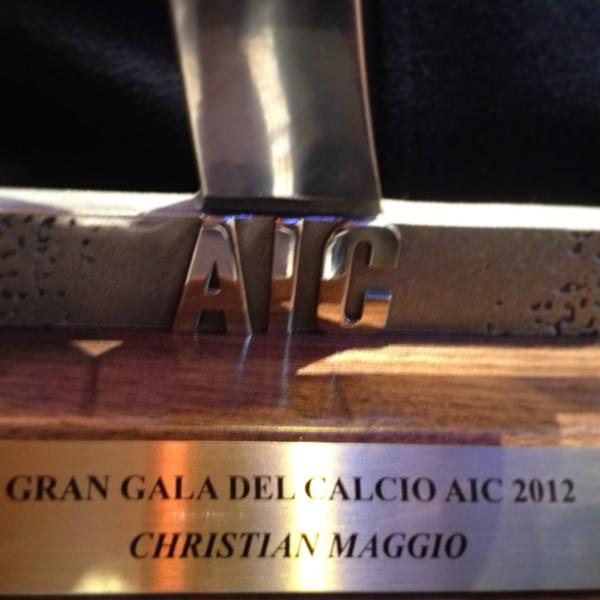 Christian Maggio miglior terzino destro 2011-2012