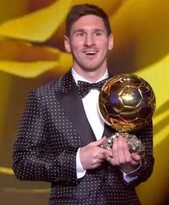 Messi Pallone d'oro 2012
