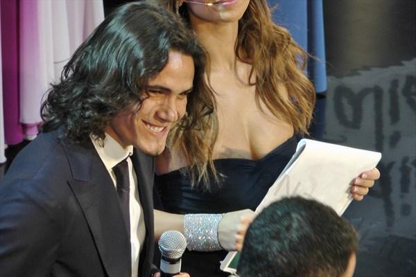 SPECIALE GALÀ DEL CALCIO - Le foto della premiazione di Edinson Cavani