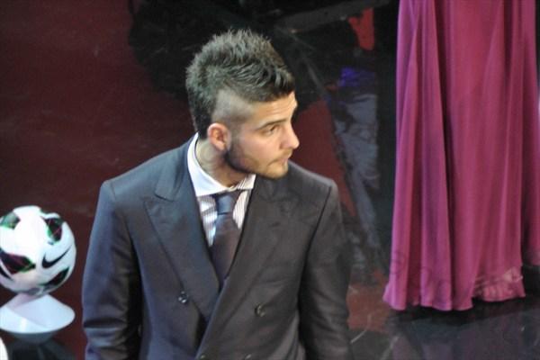 SPECIALE Galà del Calcio: le foto inedite della premiazione di Lorenzo Insigne