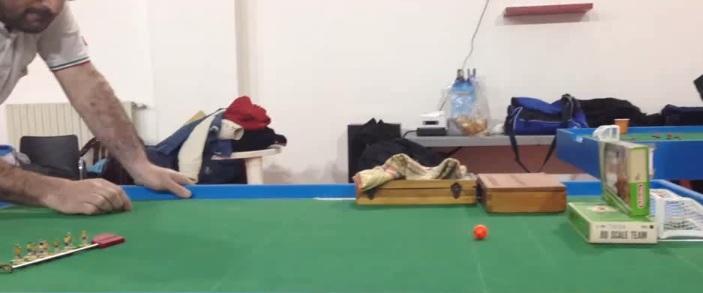 VIDEO: Uno dei gol più belli della storia del Subbuteo, l'autore è il napoletano Massimo Bolognino
