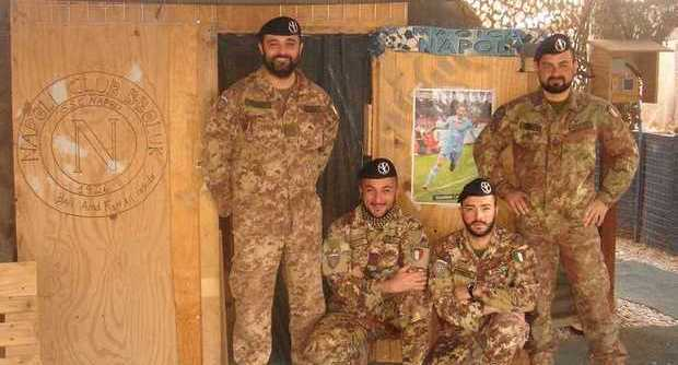 club napoli afghanistan