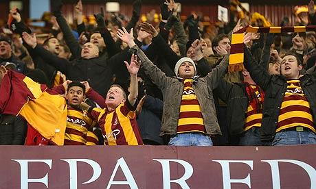 Aston Villa v Bradford City