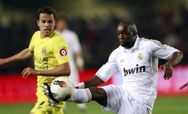 Lassana Diarra, centrocampista del Real Madrid