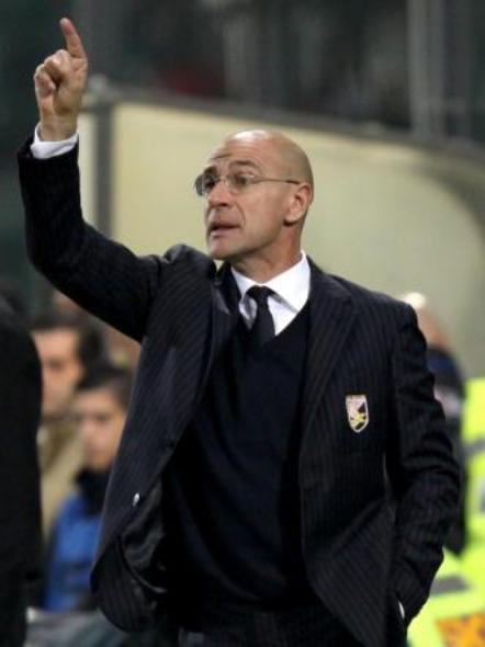 Davide Ballardini, allenatore del Palermo per tutta la stagione 2008-2009