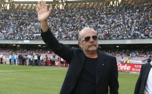 """De Laurentiis: """"Oggi non è decisiva per lo Scudetto. Mazzarri? Per me può restare a vita dipende da lui"""""""