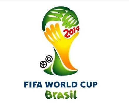 Logo mondiali brasile 2014