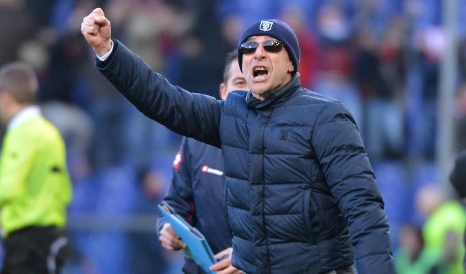 """Ballardini: """"Niente turn-over in vista derby. Domani vogliamo fare bene. Cavani? L'ho inventato io punta quando ero a Palermo"""""""