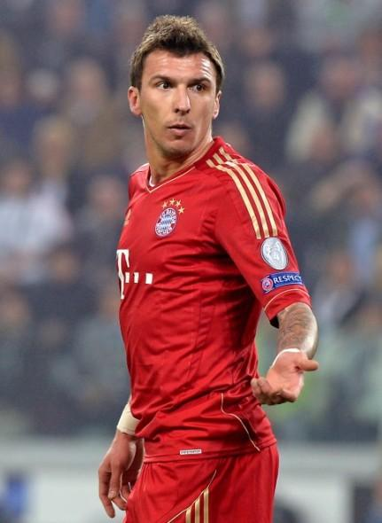 Mario Mandzukic, attaccante del Bayern Monaco
