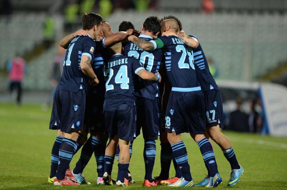 Pescara-Napoli cerchio azzurri