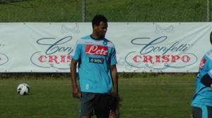 Rolando, difensore del Napoli acquistato in prestito nel mercato di gennaio