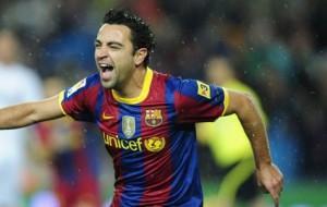 Xavi, centrocampista cresciuto nel Barcellona sin da quando aveva 11 anni